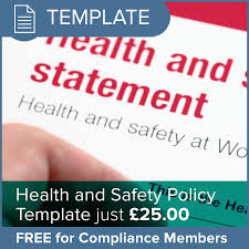 health and safety policy template osgo the podiatry membership