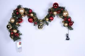 christmas garland christmas pvc garland christmas ball garland