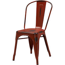 Tolix Armchair Classic Restaurant Tolix Chair In Red Color Sc781r