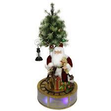 amazon com northlight animated musical lighted led santa claus