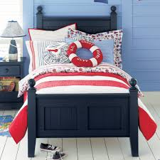 Red Bedroom Furniture Decorating Ideas Navy Blue And Red Coastal Bedroom Theme Vacation House