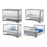 Tribeca Convertible Crib Delta Children Tribeca 4in1 Convertible Crib White And Grey