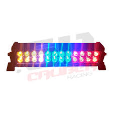 multi color led light bar multicolor flashing 12 inch led light bar with wireless remote for
