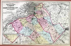 Pennsylvania Counties Map by New Jersey Historical Maps