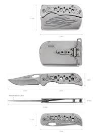 special design portable pocket belt buckle combination hollow special design portable pocket knife belt buckle combination hollow handle multi for man collection