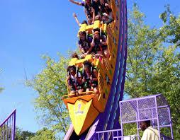6 Flags Over Ga Rides 2015 Neuheit The Joker Chaos Coaster Giant Loop Larson Six