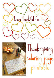 thanksgiving coloring pages printable kids class thanksgiving