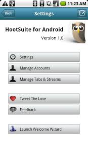 hootsuite for android android app the hootsuite client android central