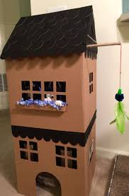 House For 1 Dollar by Best 25 Cardboard Cat House Ideas On Pinterest House Of Cat