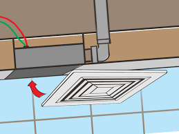 bathroom exhaust fan venting interior design