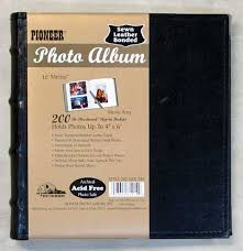 Leather Photo Album 4x6 Photo Albums