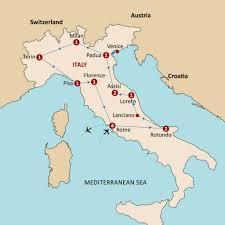 Milan Italy Map Gems Of Italy Magi Holidays Australia