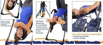 body bridge inversion table inversion table exercises jpg