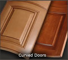 Louvered Cabinet Door Frame Mullion Curved Radius Custom Louvered Cabinet Doors