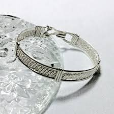 silver bracelet wire images Woven wire wrapped wire formed fine silver and sterling silver jpg