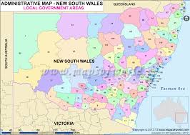 map of new south wales south wales local government areas map