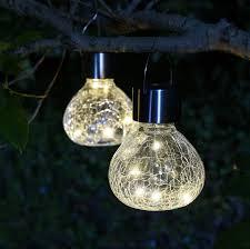 Landscape Lighting Set Lightshare Crackle Mini Jar Solar 2 Led Landscape Lighting