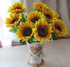 Artificial Sunflowers Buy Cheap Decorative Flowers U0026 Wreaths For Big Save 7 Small