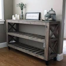 diy entryway table plans diy pallet farmhouse table make your own pallet farm table desk