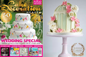 Our Floral Birdcage Cake in Cake Decoration Heaven Magazine