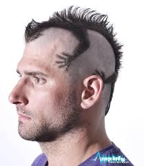 nice mohawk hair styles a funky men s mohawk haircut this hairstyle is a mohawk cut to