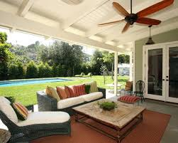 Pergola Ceiling Fan by Enclosure Amazing Pergola Style Patio Cover And Wrought Iron