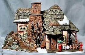 department 56 dickens crooked fence cottage dickens