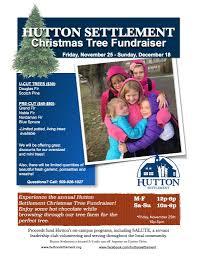 hutton settlement annual christmas tree fundraiser hutton