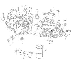 1988 audi audi 80 90 united states market gearbox gear housing