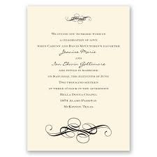 fancy flourishes invitation invitations by