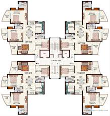 cluster house plans ansals tanushree nh 24 ghaziabad apartment flat project