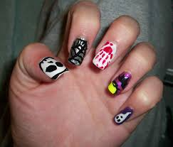 halloween nail designs pictures nail art expert