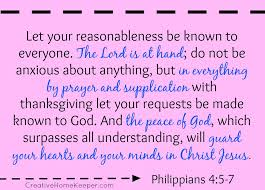 philippians 4 5 7 bible to brain to scripture memory