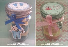 jar baby shower baby shower cupcake jar favours sensational suga