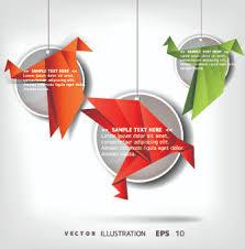 Origami Illustrator - free vector birds brushes illustrator free vector