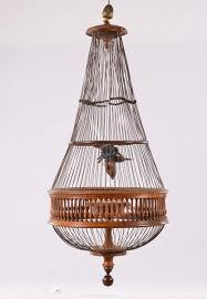 uccelli in gabbia gabbia per uccelli in legno antiquariato e dipinti antichi