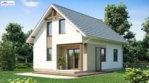 ekologiczny dom z poddaszem użytkowym bee house z71 producent