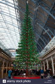 world u0027s largest lego christmas tree at st pancras station london