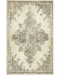 4 X 8 Area Rugs Fall Into This Deal On Unique Loom Sahara Collection Cream 5 X 8