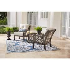 home decorators collection richmond hill 3 piece patio chat set