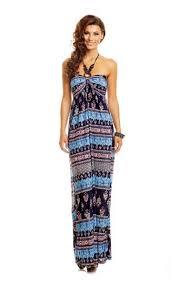 maxi kjole maxi kjole i blå nuancer 4511 1001kjoler dk