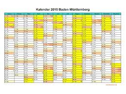 Ferienkalender 2018 Bw Kalender 2015 Baden Württemberg Kalendervip