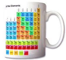 Periodic Table Mug Periodic Table Mug Ebay