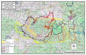 Usfs Fire Map Malheur National Forest Home