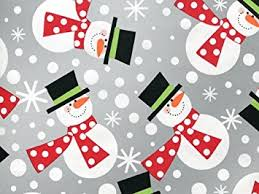 metallic christmas wrapping paper metallic silver polka dot snowmen snowman christmas