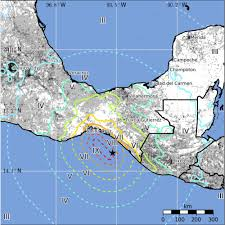 Map Of Mexico Coast by 8 1 Magnitude Earthquake Is One Of The Strongest To Ever Hit