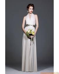 robe de cocktail longue pour mariage robe de cocktail longue pour mariage en mousseline décorée de plis