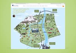 Map Of Boston Attractions by Suny New Paltz Ulster County Map U2014 Cinder Design Co