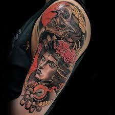 70 colorful tattoos for men vivid ink design ideas