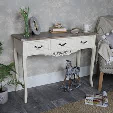 Kirklands Console Table Furniture Inspiring Ivory Console Table Christine Small Antique